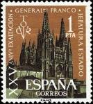 Sellos de Europa - España -  XXV aniversario de la exaltación del General Franco a la Jefatura del Estado