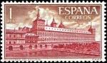 Sellos de Europa - España -  Real Monasterio de San Lorenzo de El Escorial