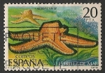 Sellos de Europa - España -  Fauna. Invertebrados. Ed 2534