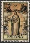 Sellos del Mundo : Europa : España :  Día del Sello. IV centenario de la muerte de Juan de Juanes. Ed 2537