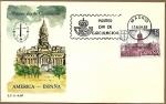 Stamps Spain -  America-España - Espamer 81 -  Palacio del Congreso - Buenos Aires    SPD
