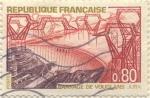 Sellos de Europa - Francia -  Barrage de Vouglans