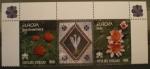 Stamps Vatican City -  EUROPA, ROSA GIOVANNI PAOLO II, NINFEE
