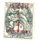 Sellos del Mundo : Africa : Argelia : Timbres de francia de.1900-1924