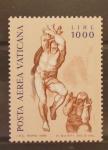Sellos de Europa - Vaticano -  FRESCOS DE MIGUEL ANGEL