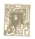 Sellos del Mundo : Africa : Argelia : rue de la kasbah