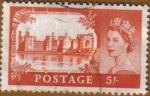 Sellos del Mundo : Europa : Reino_Unido : Castillo CAERNARFON - GALES