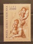 Stamps Europe - Vatican City -  FRESCOS DE MIGUEL ANGEL