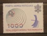 Stamps Vatican City -  DIA MUNDIAL DE LAS TELECOMUNICACIONES