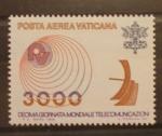 Sellos de Europa - Vaticano -  DIA MUNDIAL DE LAS TELECOMUNICACIONES