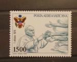 Stamps Europe - Vatican City -  VIAJES DEL PAPA JUAN PABLO II