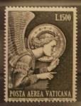 Sellos de Europa - Vaticano -  ARCANGEL SAN GABRIEL