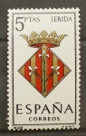 Stamps Spain -  LERIDA