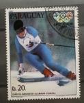 Stamps : America : Paraguay :  CHRISTA KINSHOFER-ALEMANIA FEDERAL