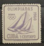 Sellos de America - Cuba -  OLIMPIADA ROMA