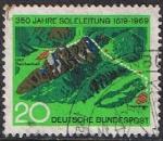 Sellos de Europa - Alemania -  350º ANIV. DE LA PRIMERA CONDUCCIÓN DE AGUA SALADA