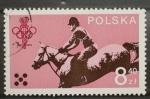Sellos de Europa - Polonia -  HIPICA OLIMPICA