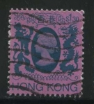 Sellos del Mundo : Asia : Hong_Kong : Scott 398 - Reina Isabel II