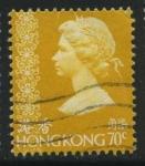 Sellos de Asia - Hong Kong -  Scott 321 - Reina Isabel II