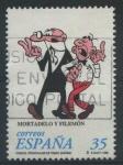 Sellos de Europa - España -  E3531 - Personajes de tebeo