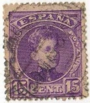Stamps Europe - Spain -  246 .- Alfonso XIII.- Tipo Cadete