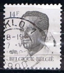 Stamps Belgium -  Scott  10  Rey Baduino