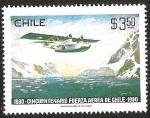 Sellos de America - Chile -  CINCUENTENARIO FUERZA AEREA DE CHILE