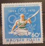 Sellos de Europa - Hungría -  PIRAGUA OLIMPICA