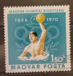 Stamps Hungary -  WATERPOLO OLIMPICO