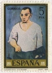 Stamps of the world : Spain :  2482.- Autorretrato (Picasso)