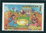 Stamps Azerbaijan -  El festival de Novruz
