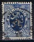 Stamps Belgium -  Scott  207  Leon d´Belgica (2)