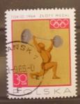 Sellos de Europa - Polonia -  OLIMPIADA TOKYO 1964