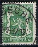 Sellos de Europa - Bélgica -  Scott  273  Escudo d´Armas