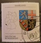 Sellos de Europa - Alemania -  SAARLAND
