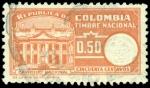 Sellos de America - Colombia -  TIMBRE NACIONAL - CAPITOLIO NACIONAL