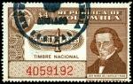 Stamps of the world : Colombia :  TIMBRE NACIONAL - JOSE MARIA DEL CASTILLO Y RADA - SIN SERIE