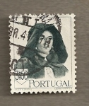 Stamps of the world : Portugal :  Mujer con traje típico