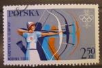Stamps : Europe : Poland :  TIRO CON ARCO