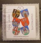 Stamps Germany -  ESCUDOS: MAYEN, WELSCHBILLIG, BERNKASSTEL, MONTABAUR, WITTLICH, SAARBURG