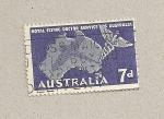 Stamps Australia -  Servicio médico por avión