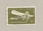 Stamps Australia -  50 Aniv. Primer correo aéreo