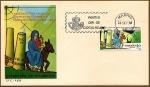 Sellos de Europa - España -  XVI Centenario del viaje de la monja Egeria al Oriente Bíblico - SPD
