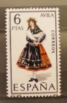 Stamps : Europe : Spain :  avila