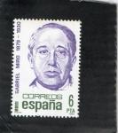 Stamps Spain -  2618- GABRIEL MIRO 1879-1930
