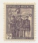 Stamps Argentina -  Golpe de Estado de 1930