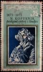 Sellos de Europa - Albania -  Nicolás Copérnico (1473-1543)