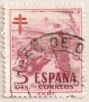 Stamps Spain -  Pro Tuberculosos