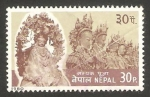 Sellos del Mundo : Asia : Nepal : 362 - festival samjak pooja