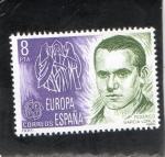 Stamps Spain -  2568- FRANCISCO GRACIA LORCA